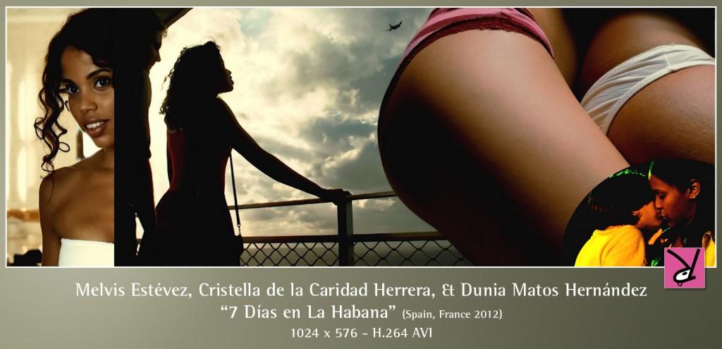 Claudia Muñiz, Melvis Estévez, Cristella de la Caridad Herrera, and Dunia Matos Hernández in 7 Días en La Habana