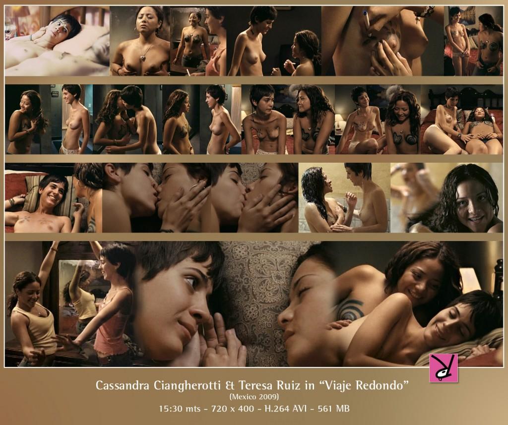 Cassandra Ciangherotti and Teresa Ruiz in Viaje Redondo