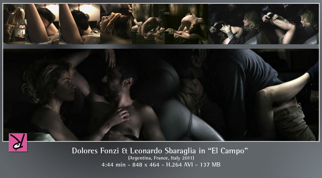 Dolores Fonzi and Leonardo Sbaraglia in El Campo