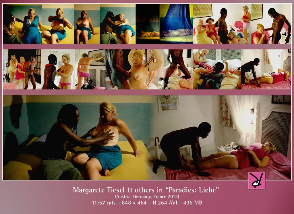 Margarete Tiesel and others in Paradies: Liebe
