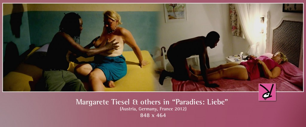 Margarete Tiesel and others in Paradies Liebe
