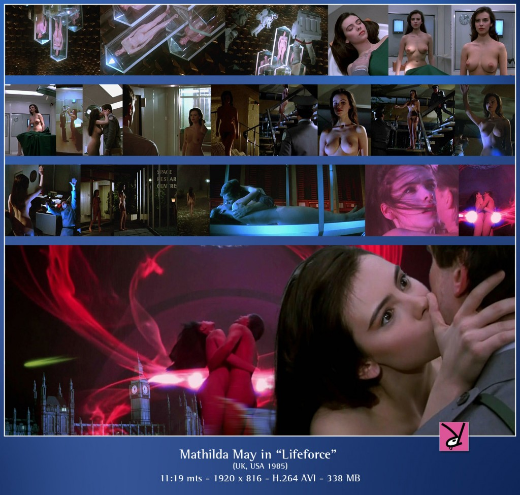 Mathilda May in Lifeforce