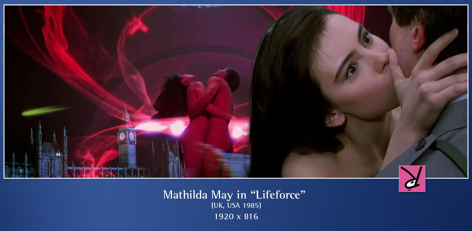 Mathilda May in Lifeforce