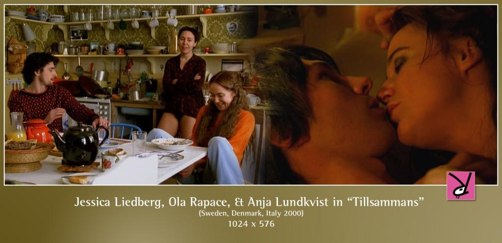 Jessica Liedberg, Ola Rapace, and Anja Lundkvist in Tillsammans