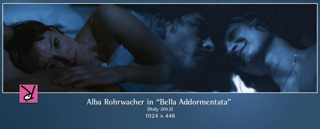 Alba Rohrwacher in Bella Addormentata