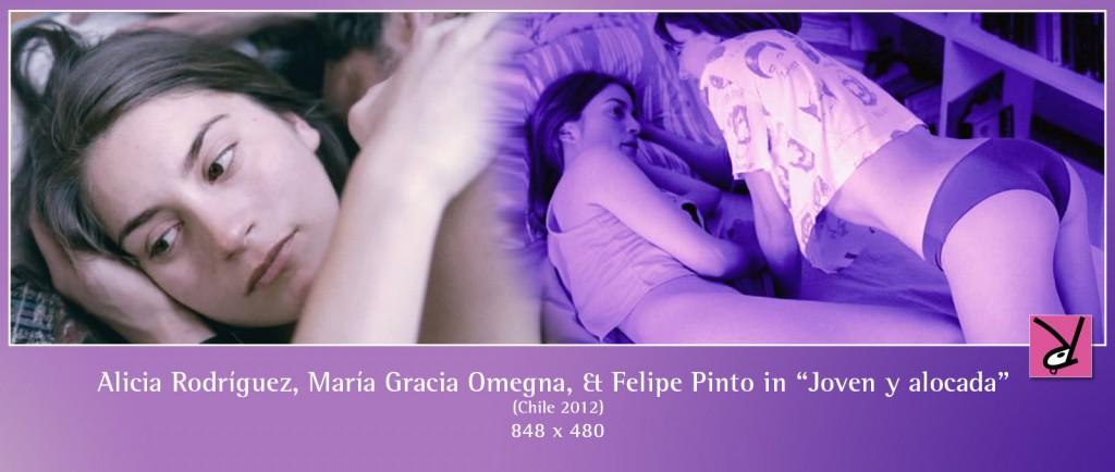 Alicia Rodríguez, María Gracia Omegna, and Felipe Pinto in