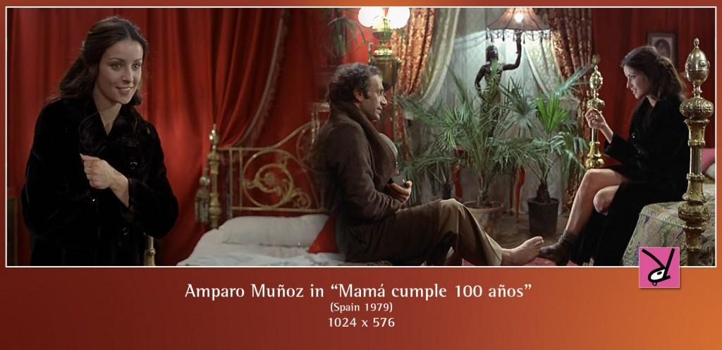 Amparo Muñoz in Mamá cumple 100 años