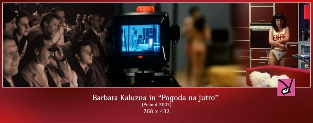 Barbara Kaluzna nude in Pogoda na jutro