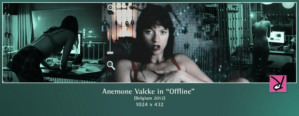 Anemone Valcke nude in the film Offline