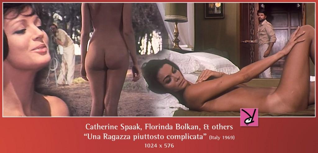 Catherine Spaak, Florinda Bolkan, and others nude in Una ragazza piuttosto complicata
