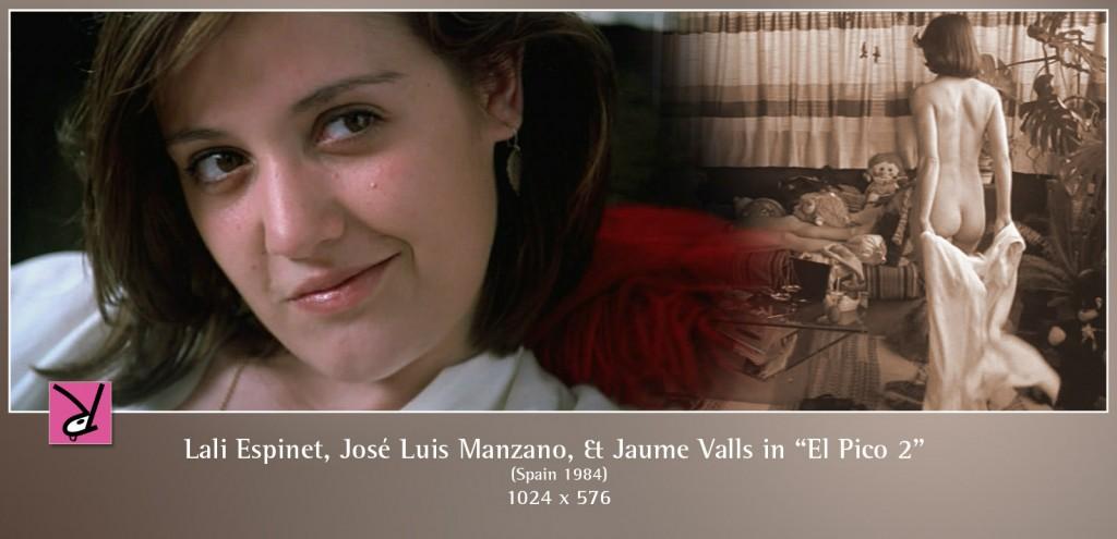 Lali Espinet, Jose Luis Manzano, and Juame Valles in El Pico 2 (1984)