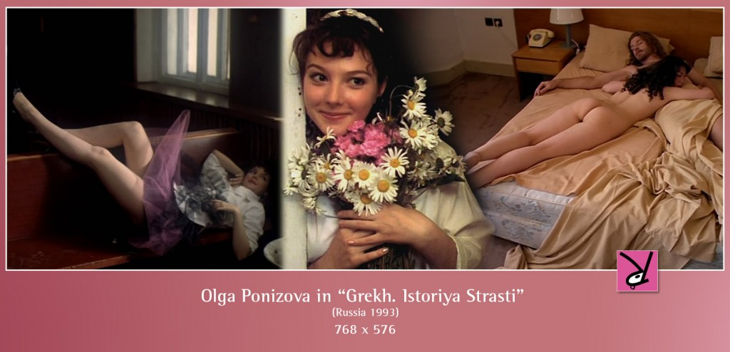 Olga Ponizova nude in the Russian drama Grekh. Istoriya Strasti