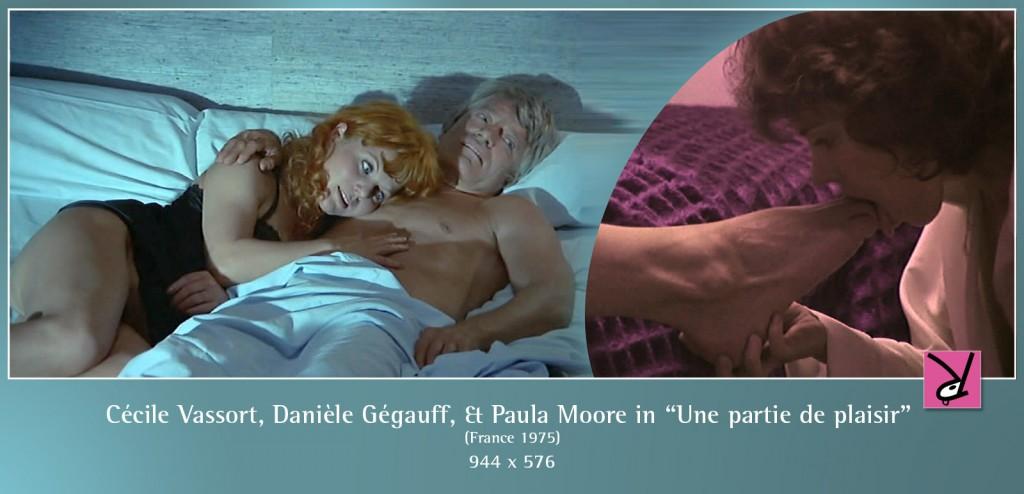 Cécile Vassort, Danièle Gégauff, and Paula Moore nude in Une partie de plaisir
