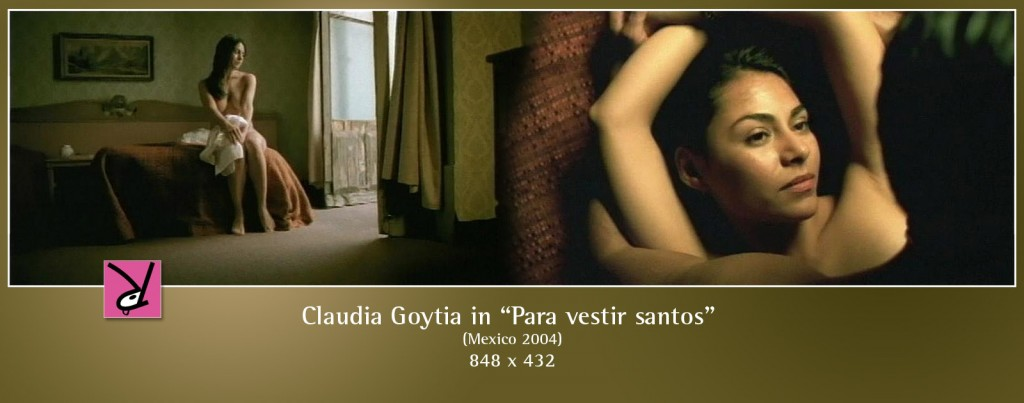 Claudia Goytia nude in Para vestir santos