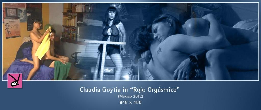 Claudia Goytia nude in Rojo Orgásmico