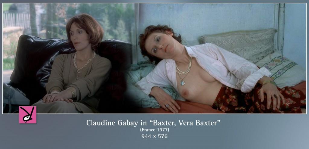 Claudine Gabay nude in Baxter, Vera Baxter