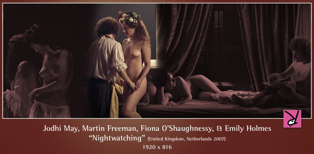 Jodhi May, Martin Freeman, Fiona O'Shaughnessy, and Emily Holmes nude in Nightwatching