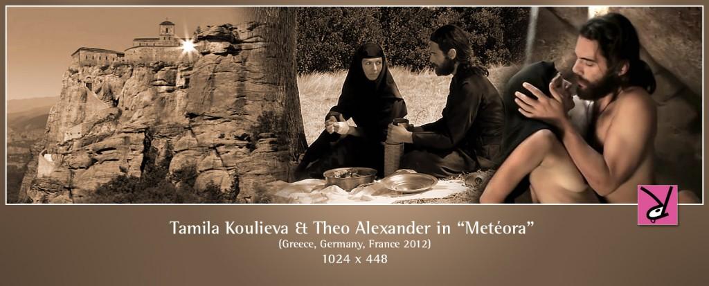 Tamila Koulieva and Theo Alexander nude in Metéora