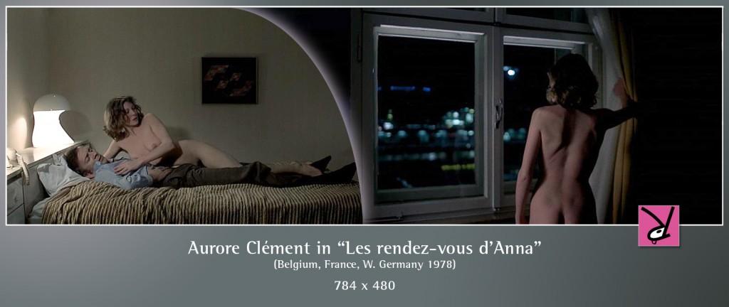 Aurore Clément nude in Les rendez-vous d'Anna