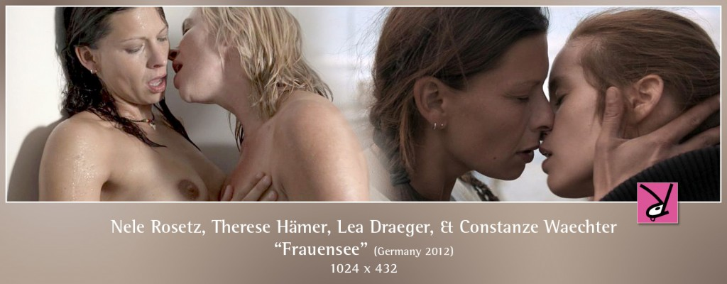 Nele Rosetz, Therese Hämer, Lea Draeger, and Constanze Waechter nude in Frauensee aka Woman's Lake