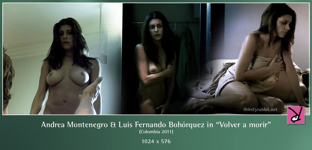 Andrea Montenegro and Luis Fernando Bohorquez nude in Volver a morir aka Wake Up and Die