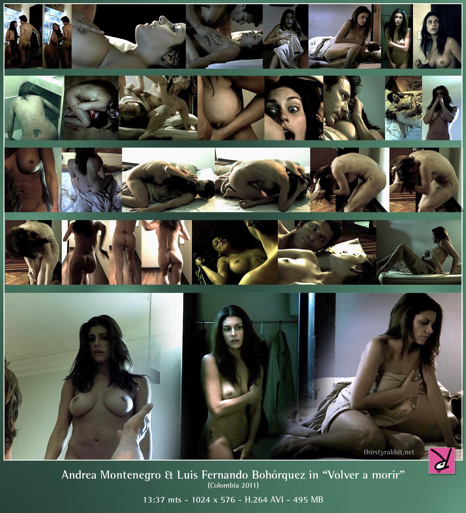 Nude colombian twen andrea