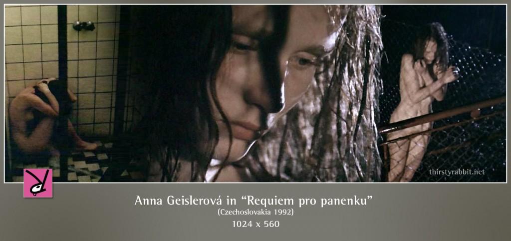Teenage Anna Geislerová nude in Requiem pro panenku aka Requiem for a Maiden
