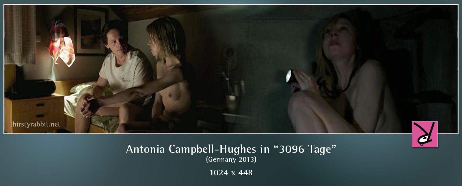 Nackt  Antonia Campbell-Hughes 3096 Tage