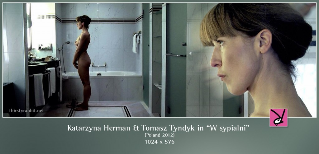 Katarzyna Herman and Tomasz Tyndyk nude in W sypialni