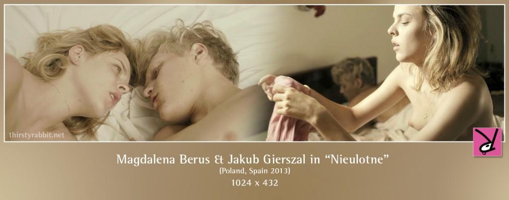 Magdalena Berus and Jakub Gierszal nude in Nieulotne