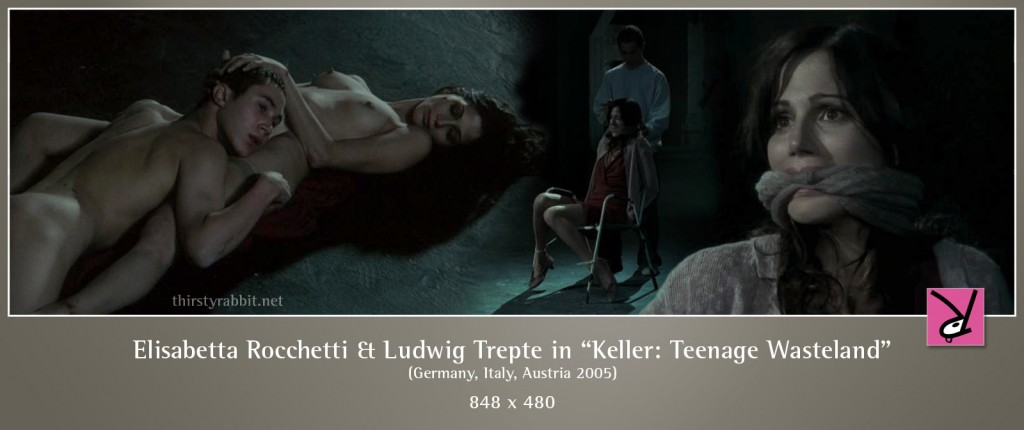 Elisabetta Rocchetti and Ludwig Trepte nude in Keller - Teenage Wasteland aka Out of Hand