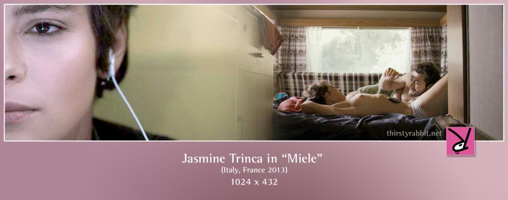 Jasmine Trinca nude in Miele aka Honey