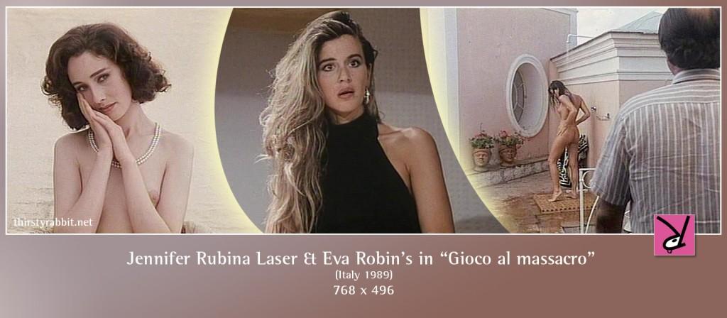 Jennifer Rubina Laser and Eva Robin's nude in Gioco al massacro aka A Human Portrait
