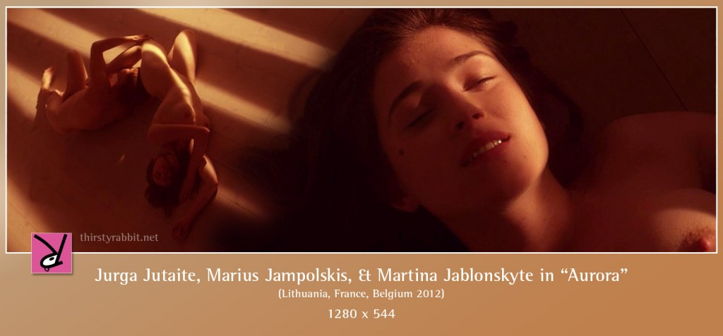 Jurga Jutaite, Marius Jampolskis, and Martina Jablonskyte nude in Aurora aka Vanishing Waves