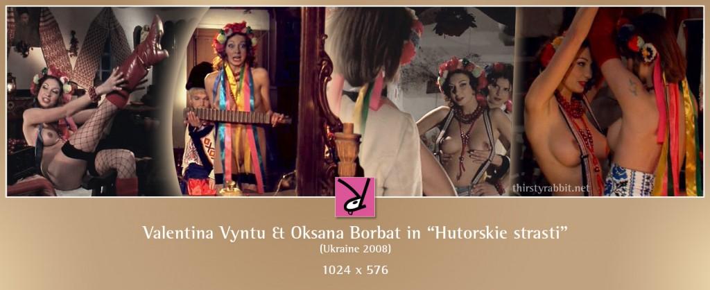 Oksana Borbat and Valentina Vyntu nude in Hutorskie strasti