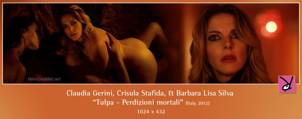 Claudia Gerini, Crisula Stafida, and Barbara Lisa Silva naked in Tulpa - Perdizioni mortali