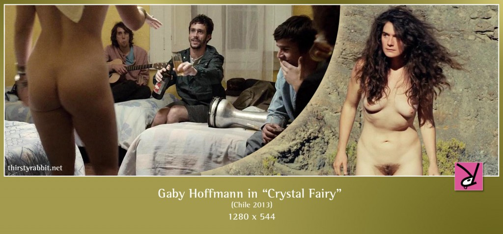 Gaby Hoffmann totally nude in  Crystal Fairy