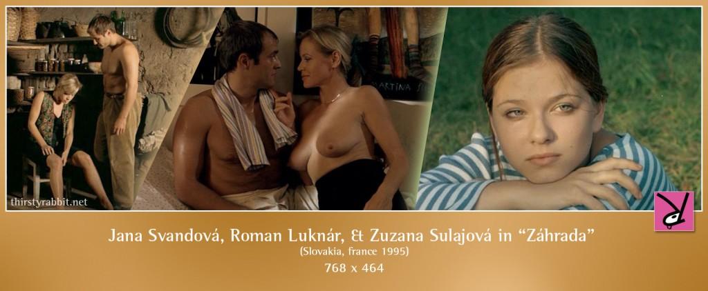 Zuzana Sulajová and Zuzana Berkyová nude in Záhrada aka The Garden
