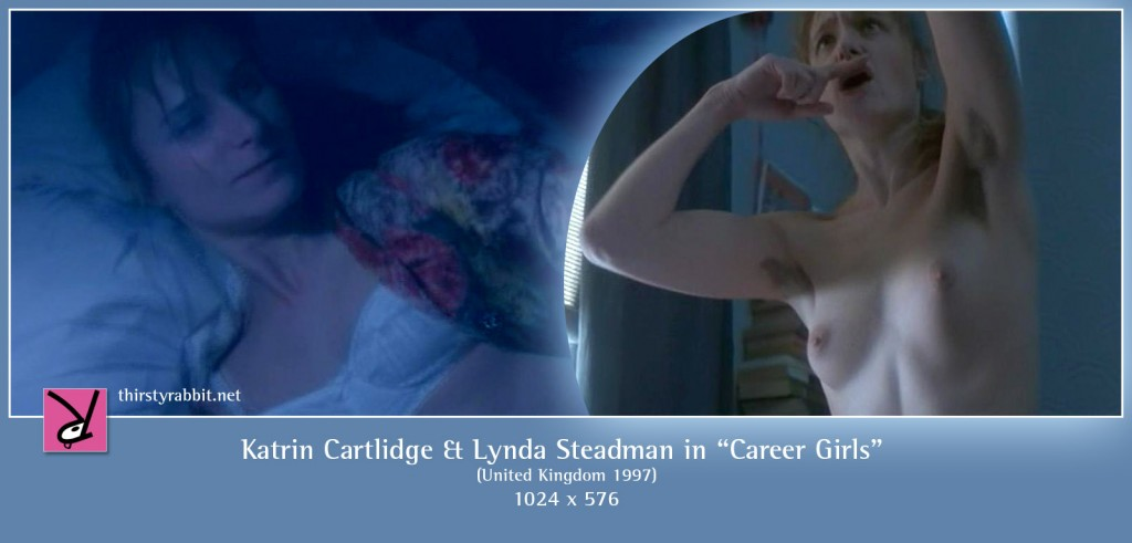 Katrin Cartlidge naked in Mike Leigh's Career Girls