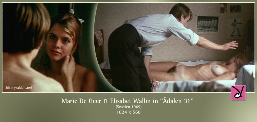 Marie De Geer and Elisabet Wallin nude in Adalen 31