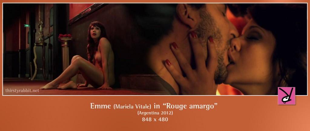 Mariela Vitale aka Emme nude in Rouge amargo