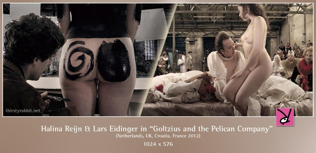 Halina Reijn and Lars Eidinger nude in Goltzius and the Pelican Company