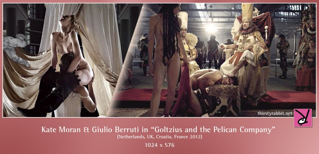 Kate Moran and Giulio Berruti nude in Goltzius and the Pelican Company