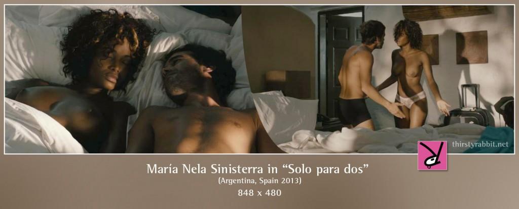 María Nela Sinisterra nude in Solo para dos
