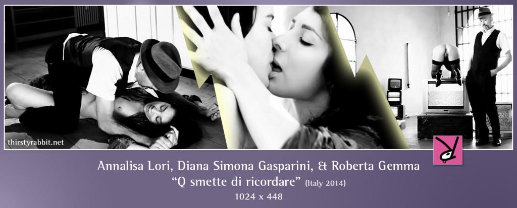Diana Simona Gasparini and Roberta Gemma nude in Q smette di ricordare