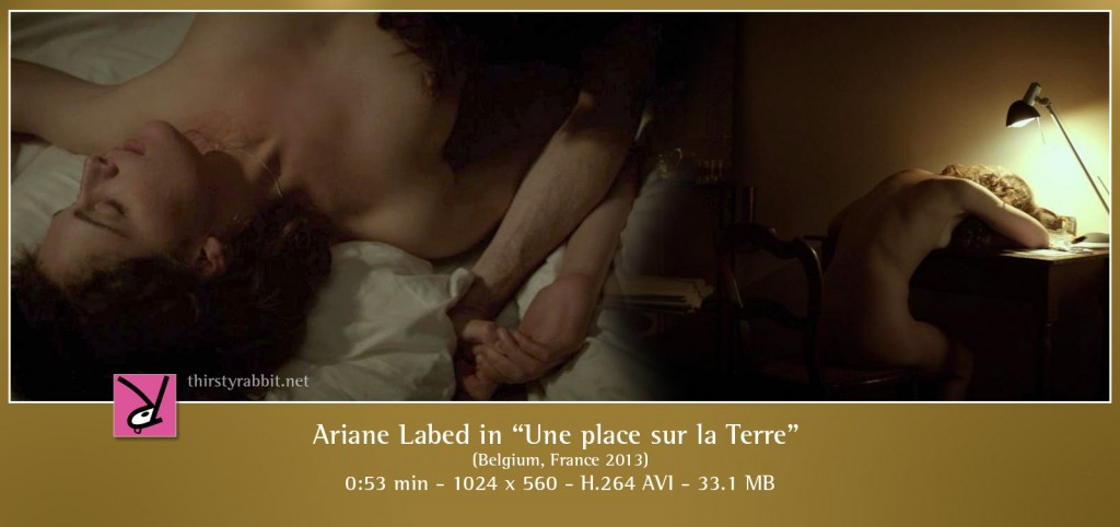 Ariane Labed in the French film Une place sur la Terre
