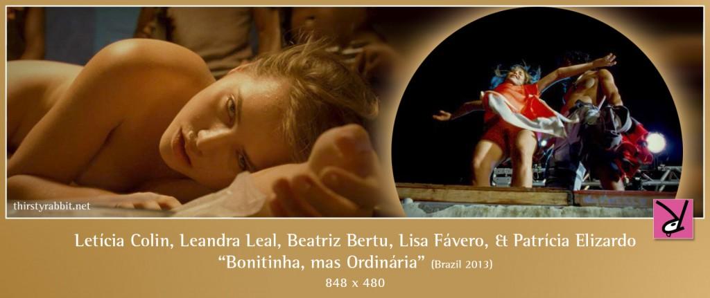 Letícia Colin, Beatriz Bertu, Lisa Fávero, and Patrícia Elizardo nude in Bonitinha, mas Ordinária