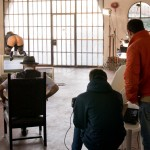 Roberta Gemma film shoot