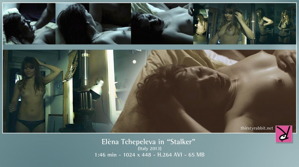 Elèna Tchepeleva nude in The Stalker 2013, Italy