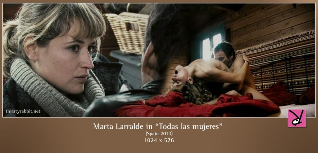 Marta Larralde nude in Todas las mujeres